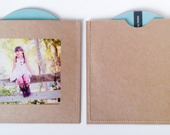 DVD Cases / Sleeves - 25 DVD sleeves with photo opening on front