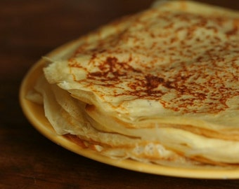 Recipe of Crêpes and Ficelles Picardes (French pancakes and Picardy's ropes) - Free shipping gift