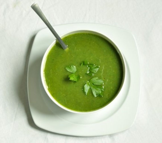 French Lettuce Soup Historical recipe Researched and Adapted for the Modern Kitchen gift
