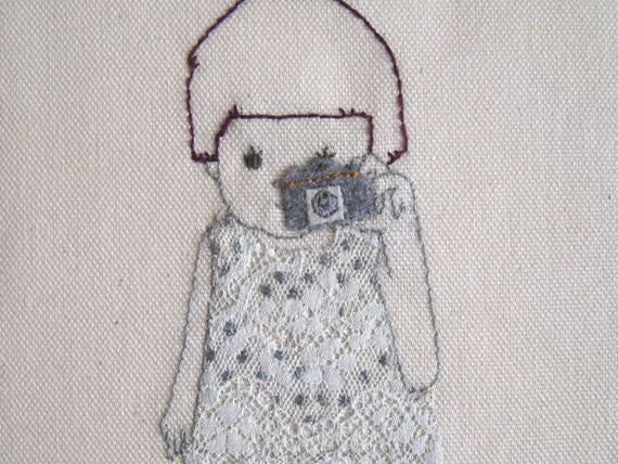 handmade embroidery - camerakid