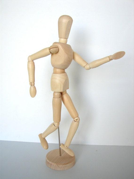 Wood Manikin / Mannequin 8 high Perfect for drawing