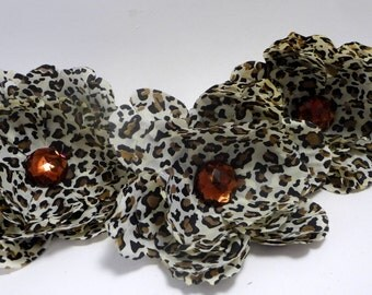 SALE Cheetah 4 inch Peony(set of 3) was 2.50 now 1.25