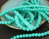 Mint Green Beads 16 inch strand