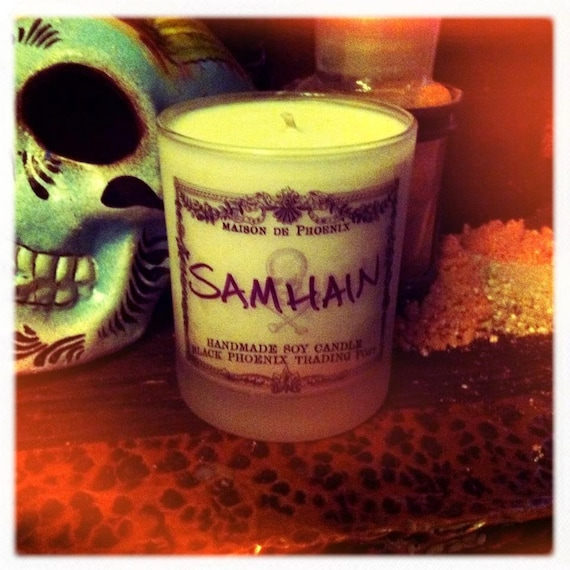 Samhain Candle : Black Phoenix Trading Post