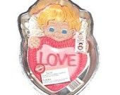 NEW Retired Wilton Cupid pan