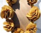 Marigold Necklace reserved for Jennifer