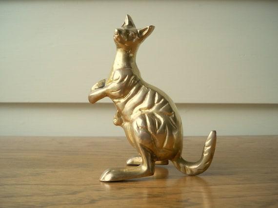 Brass Kangaroo.  Remi Kangaroo fan.