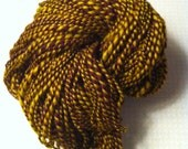 Goldenrod/Burgundy Striped Merino for Mermium