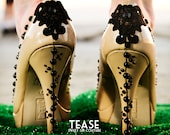 SALE - Tease Embellished Nude High Heel