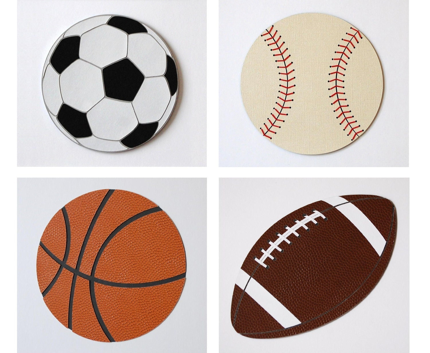 Wall decor for boys room old world home furnishings 2015 sports theme kids wall decor baseball decor football by wallduds amipublicfo Images