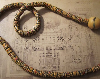beads vintage trading african beads glass hand painted ghana jewelry making supplies earrings necklace or bracelet