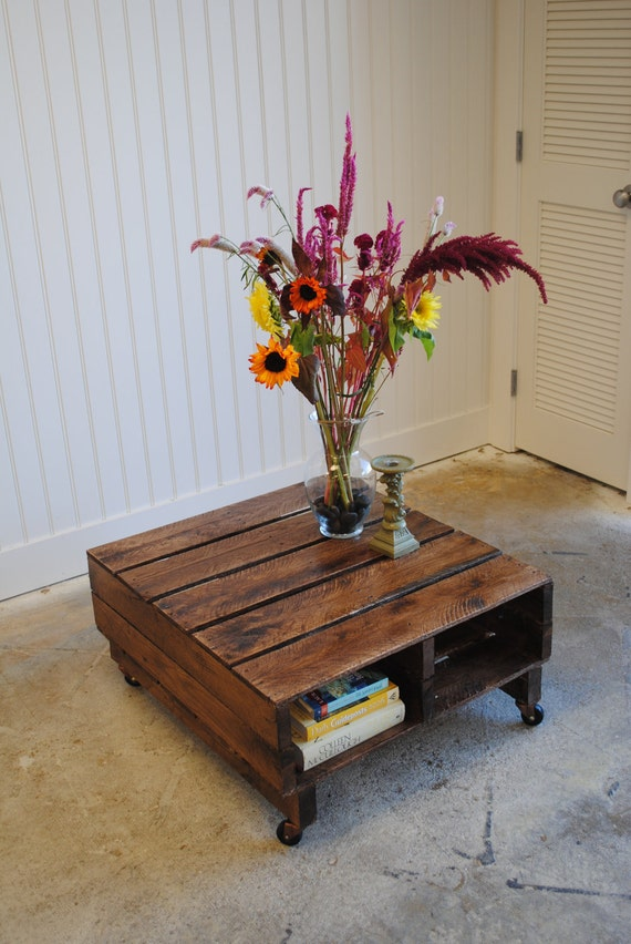 Private listing for Krugerand7 Pallet Coffee Table