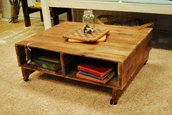 PrivatePallet Coffee Table listing for Daphne
