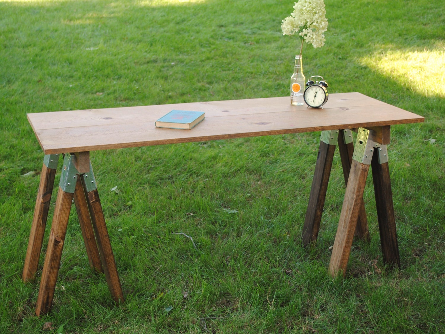 Unavailable listing on etsy Sawhorse desk legs