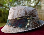 Funky Fedora with Feathers