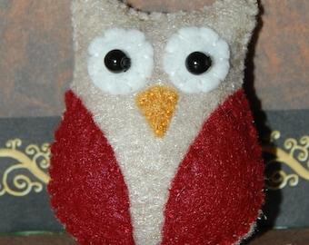 Pattern - PDF - Miniature felt OWL