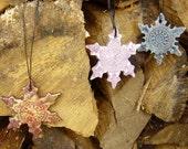 3 Christmas stars