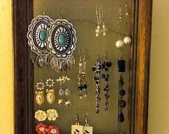 UPCYCLED Earring Display