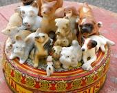 Handmade Decorative Dog Tin Sculpture
