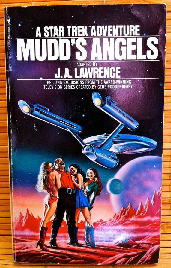 Star Trek - Paperback Novel - Mudd's Angels - 1978