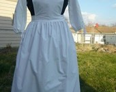 Apron pinner /  Colonial / Historical / Victorian / Civil war.