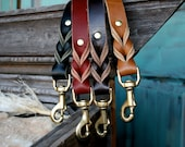 Leather Dog Leash- The Everyday Leather Leash