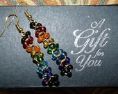 ROY-G-BIV Rainbow Earrings