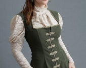 Lace Jabot Blouse