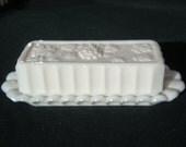 Westmoreland Paneled Grape Covered Butter Dish