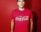 1980's Vintage Coca-Cola T-Shirt Size L