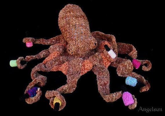 Octavius the Giant Octopus Crochet PDF Pattern by ...