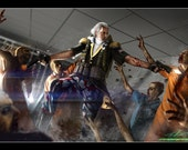 George Washington Zombie Hunter *various sizes available*
