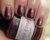 Witch of Pungo Nail Polish Lacquer Glitter