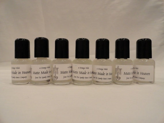 A Matte Made in Heaven Matte Top Coat Nail Polish Lacquer