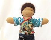 Waldorf Doll Shirt Cotton Hawaii