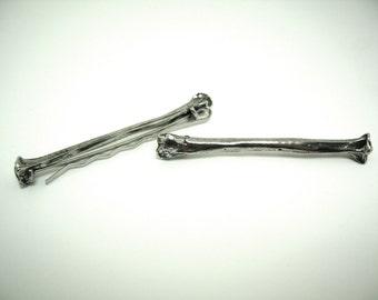 Bone Hair Pins