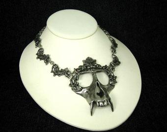 Monkey Skull Necklace