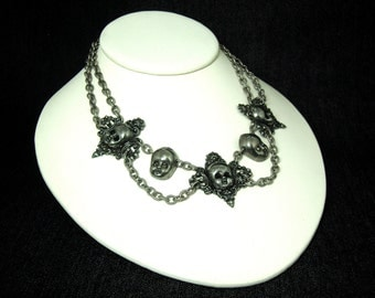 5 Station Victorian Baby Necklace