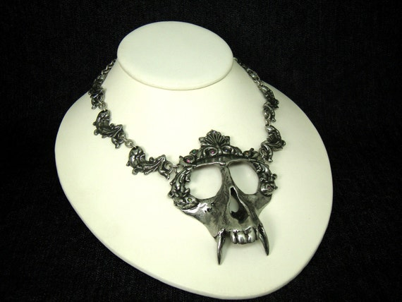 Monkey Skull Necklace