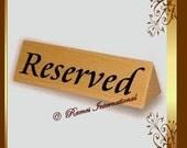 Reserved for vintagemood