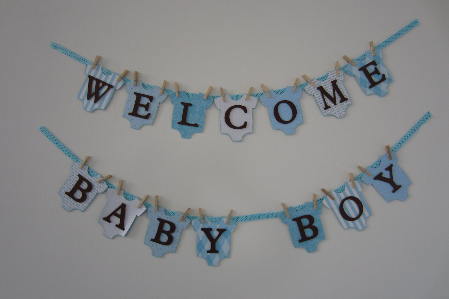 Unavailable listing on etsy Baby shower banners