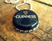 SALE - Bottle Cap Necklace Guinness  (Last Chance by: May 28th)