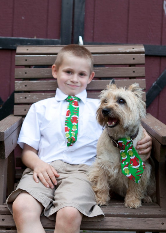 Christmas Character Neck Tie for Boys
