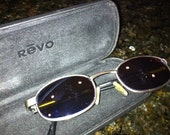 Vintage Rare Revo stealth mirror sunglasses with original case