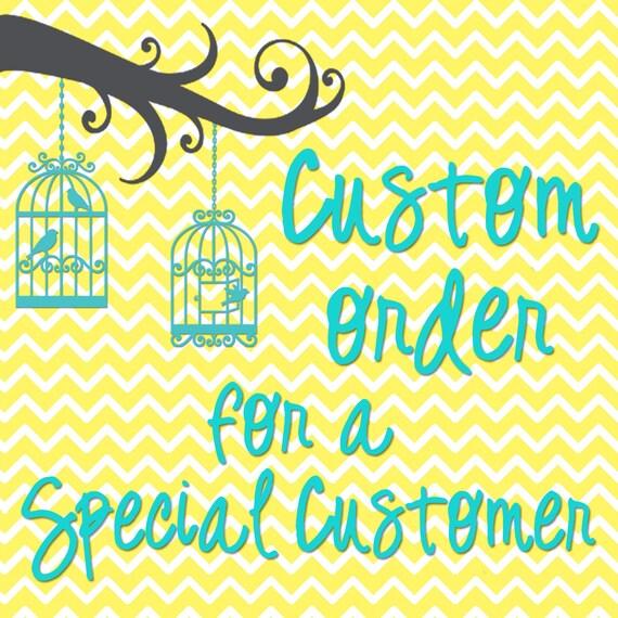 Custom listing for Rakeshala Grace
