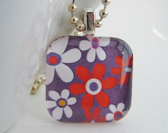 Bloomin' in the USA Pendant with Free Necklace