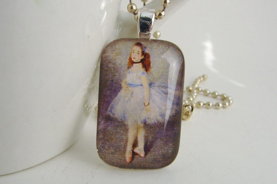 Renoir's Dancer Pendant with Free Necklace