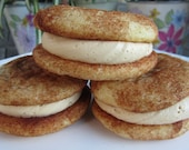 Snickerdoodle Cookie Sandwich