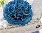 Large Blue Carnation Paper Flower - Rose - Ranunculus
