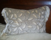 Fringe Comfort - Luxury PILLOW, hand made in USA